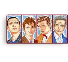 The Four Doctors Canvas Print