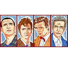 The Four Doctors Photographic Print