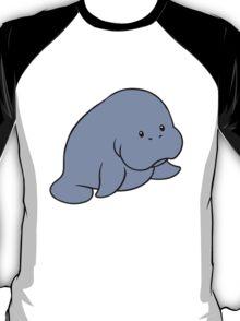 Manatee geek funny nerd T-Shirt