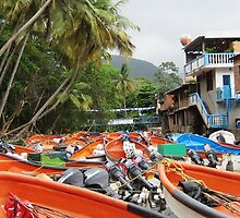 Boat Carpark II by Russell Shearing