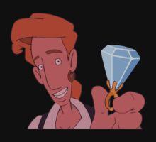Elaine, wanna marry me?? (Monkey Island 3) Kids Tee