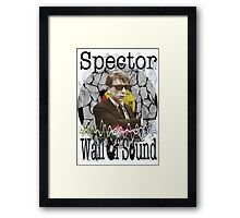 Spector Wall of Sound Framed Print