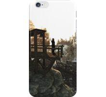 Guarding the High Mountain Pass iPhone Case/Skin