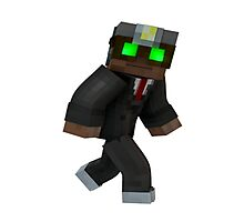 Minecraft Character Photographic Print