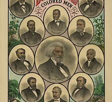 Distinguished Colored Men (1883) by allhistory