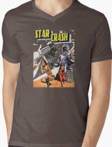 Star Crash Mens V-Neck T-Shirt