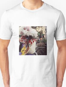 Featherman original photograph, NYC photography, Union Square photo, street photography, Outsiderphotography Unisex T-Shirt