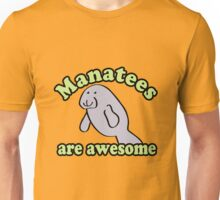 Manatees are awesome geek funny nerd Unisex T-Shirt
