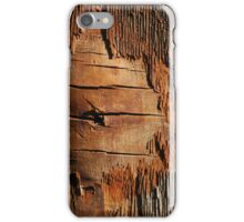 old plywood iPhone Case/Skin