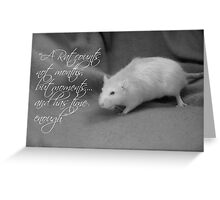 Precious moments Greeting Card