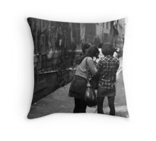 Is it straight? Throw Pillow