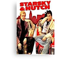 Starsky & Hutch Canvas Print