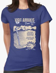 Visit Arrakis Womens Fitted T-Shirt