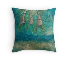 THE GRAEAE - DAUGHTERS OF PHORCYS Throw Pillow