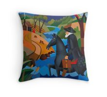 DR. GEORGE FORDYCE STORY OF 'KELVEDON' 1838 Throw Pillow