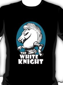 White Knight Logo in Teal T-Shirt