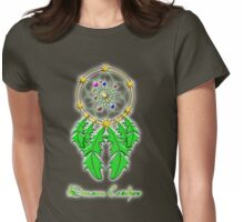 The Dreamcatcher - Make ALL Your (good) Dreams Come True T-shirt, etc. design Womens Fitted T-Shirt