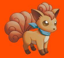 Vulpix Pokémon by Vortlas