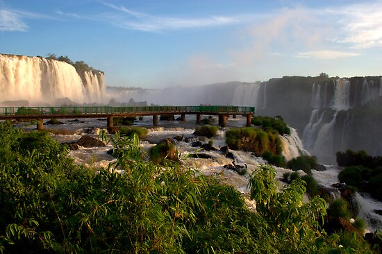 Iguazu Falls, Brazil, South America by Deb22