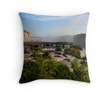 Iguazu Falls, Brazil, South America Throw Pillow