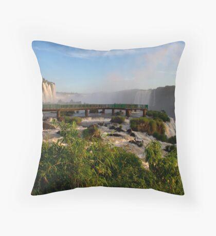 Iguazu Falls, Brazil, South America Throw Pillow