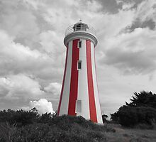 Devonport Lighthouse a touch of colour by Paul Campbell  Photography