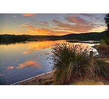 In A Rush - Narrabeen Lakes, Sydney - The HDR Experience Photographic Print