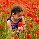 Picking flowers by Inese