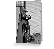 Life On the Streets Greeting Card