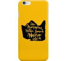 Las Montanas Estan Llamando y Nairo Debe ir / The Mountains Are Calling and Nairo Must Go (Spanish) iPhone Case/Skin