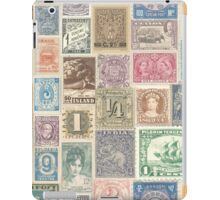 Letters from the world iPad Case/Skin