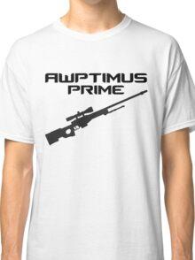 AWPtimus prime Classic T-Shirt