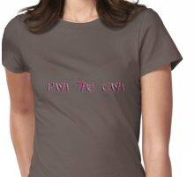 pash the gash Womens Fitted T-Shirt