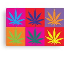 Marijuana Abstract Canvas Print