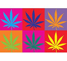 Marijuana Abstract Photographic Print
