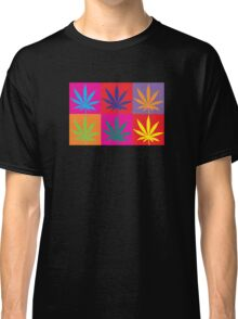 Marijuana Abstract Classic T-Shirt