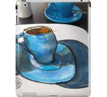 The Blue Cup iPad Case/Skin