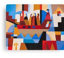 VAN DIEMENS LAND CONVICTS Canvas Print