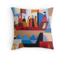 VAN DIEMENS LAND CONVICTS Throw Pillow