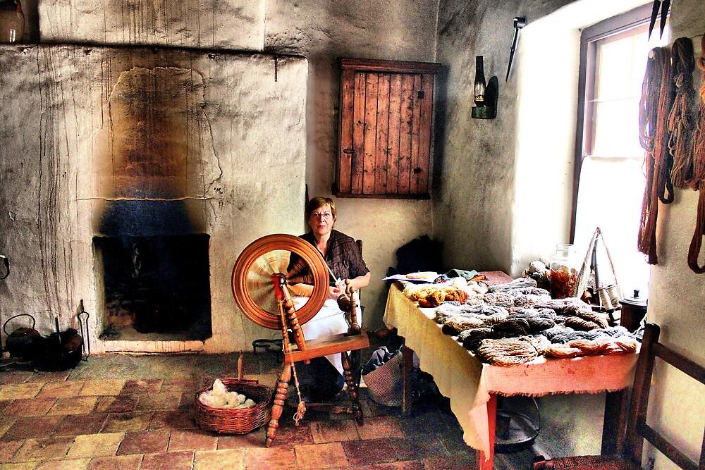 An Irish weaver by joshuatree2