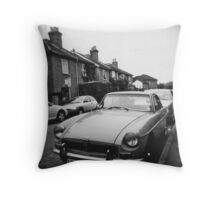 Guildford street Throw Pillow