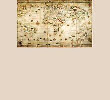 Ye Olde Medieval Mappe of the World Unisex T-Shirt