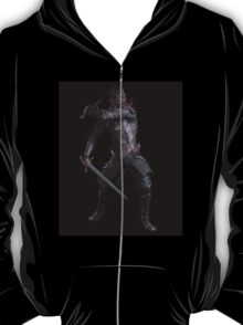 Dark Fantasy Knight with Two Swords T-Shirt