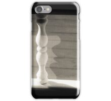 Spindles,Screen and Shadows iPhone Case/Skin