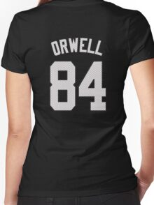 George Orwell - 1984 Women's Fitted V-Neck T-Shirt