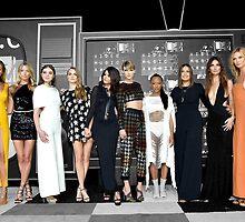 Girl Squad at the VMAs by Alecia John