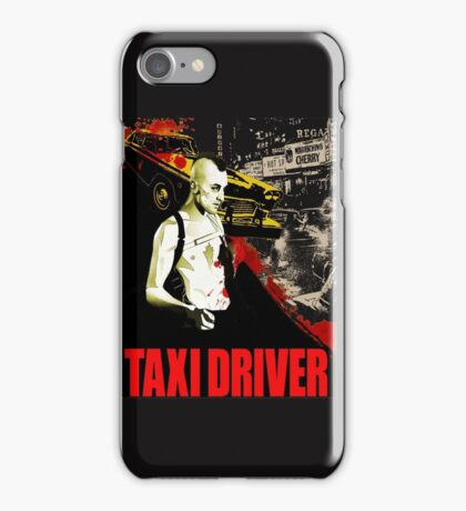 Taxi Driver iPhone Case/Skin