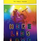 Playbill- Here Lies Love Off Broadway by metalbeak
