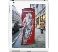 Einstein in London iPad Case/Skin