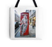 Einstein in London Tote Bag